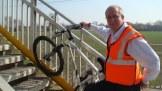 Meldreth Station gets a wheel channel